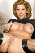 Christine baranski nude fakes