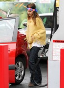 Isabel Lucas-Out In LA 4th October 2010