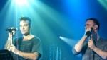 Robbie et Gary  au concert à Paris au Alhambra 10/10/2010 1b35e9101960759
