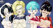 Dragon Ball - Androide 18 - Sextoon