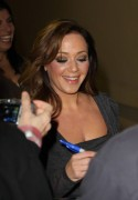 "Leah Remini leaving the ""Jimmy Kimmel Live"" studios - November 16, 2010"