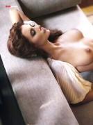 Лилия Кукик, фото 8. Liliya Kukyk Kulyk topless – EGO Magazine (January 2011), photo 8