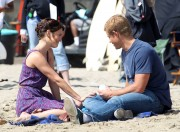 Джессика Строуп, фото 960. Jessica Stroup Filming '90210' on Redondo Beach in Los Angeles - 17.08.2011, foto 960