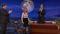 Jennifer Aniston - Conan 2/22/12