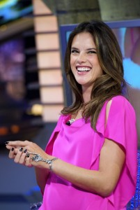 Алессандра Амброзио, фото 8196. Alessandra Ambrosio On 'El Hormiguero' TV Show in Madrid, 05.03.2012, foto 8196