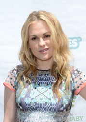 Anna Paquin - Huggies Hawaiian and Baby2Baby Luau 5/05/12