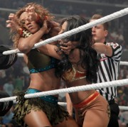 WWE SummerSlam 2010 - Melina vs Alicia Fox - Divas Championship Match (10x Digitals)